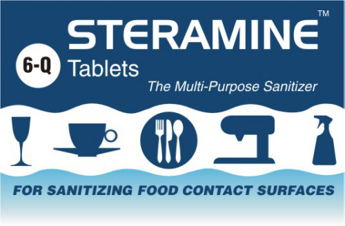 Package Label Design for Steramine