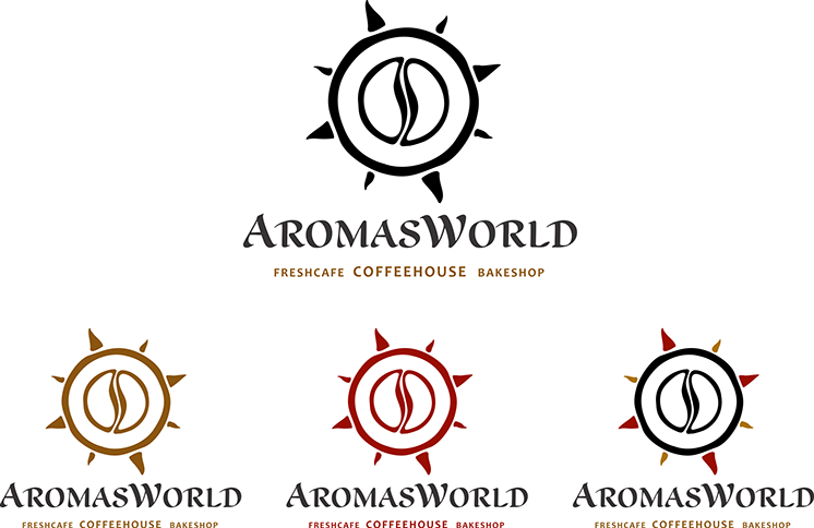 Aromas World franchising identity